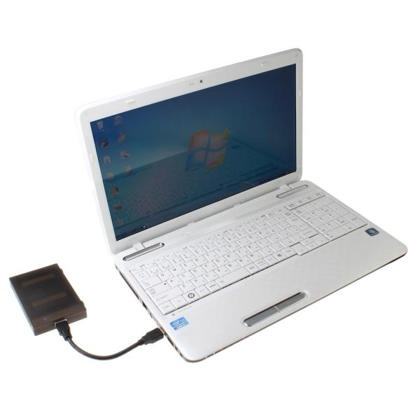 HDDをパソコンに接続