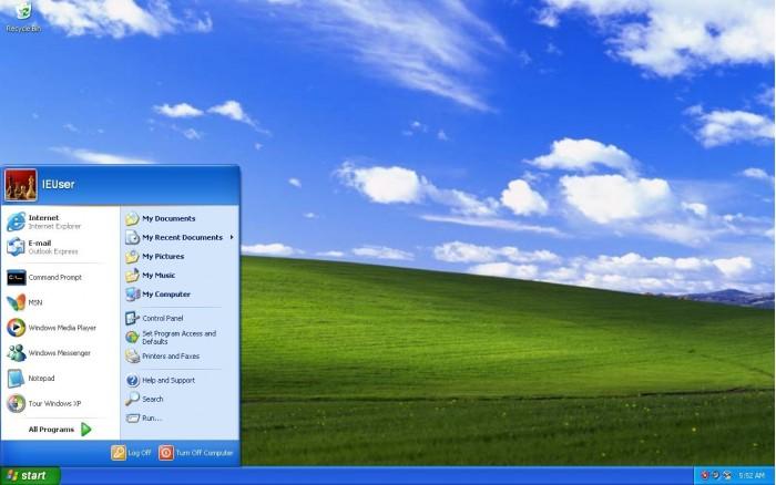 Windows XP 情報安全