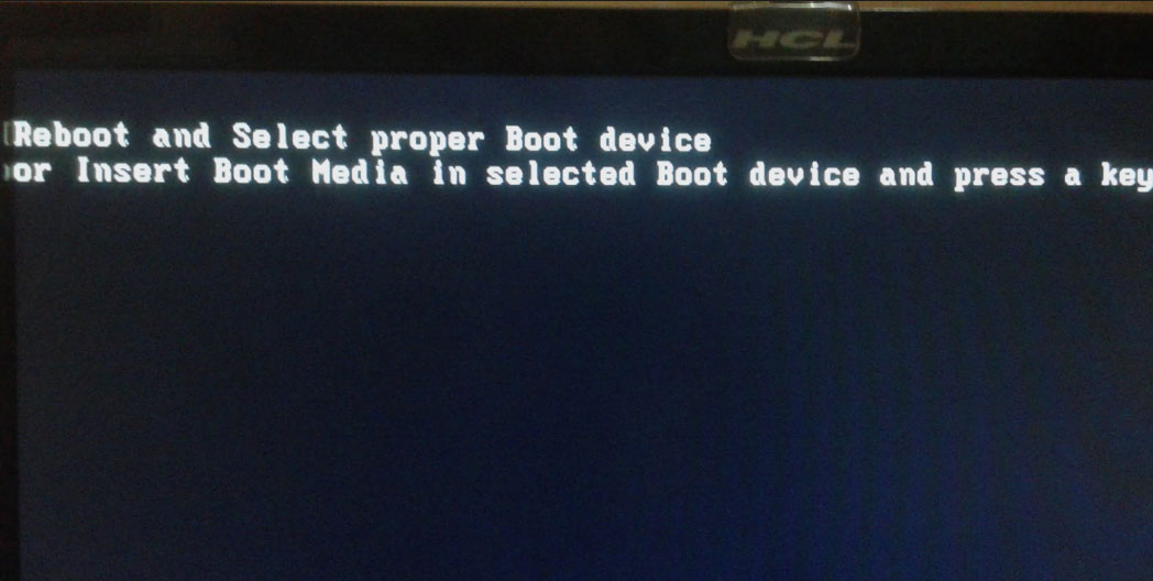 ハードディスクのパーティションテーブルが破損しているため、パソコンが認識・起動できません
