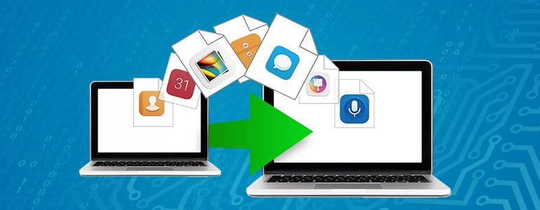 Windows環境がなくてもOK!わずかなクリックで既存のファイルを移行