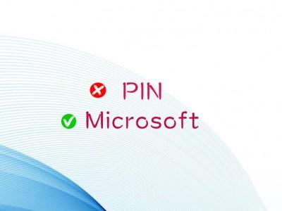 PINじゃなくMICROパスワード
