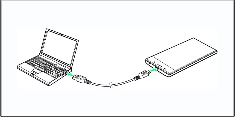 PCのスマホとの接続