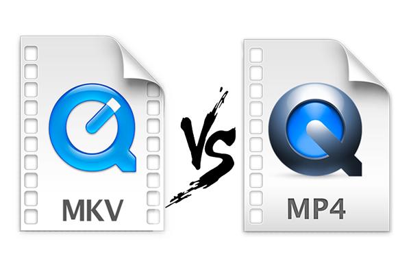 MKV対MP4
