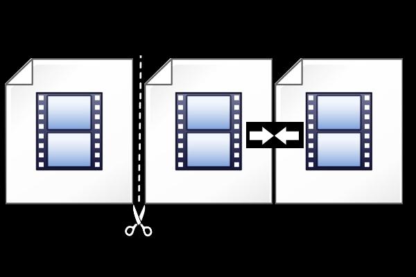 ビデオのカットと結合