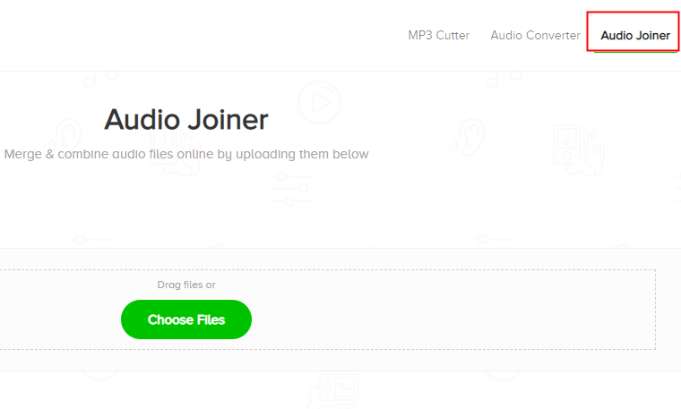MP3 Cutterのaudio joiner