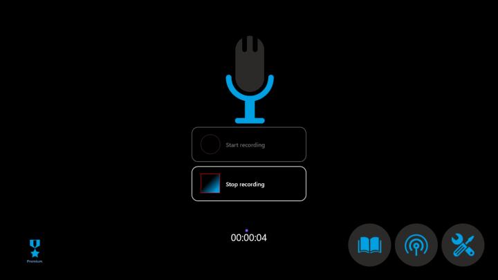 ソフトeasy sound recorder