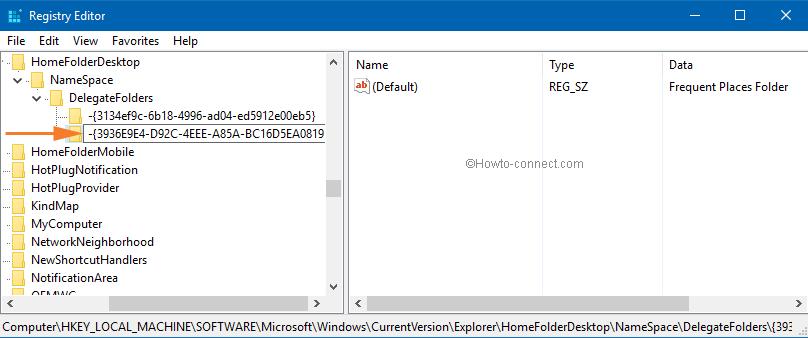 レジストリエディターで最近使用したファイルを非表示